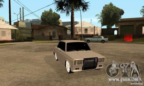 Lada VAZ 2107 LT pour GTA San Andreas vue arrière