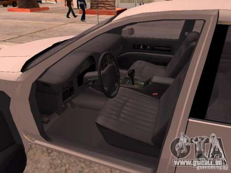 Chevrolet Impala SS 1995 für GTA San Andreas zurück linke Ansicht