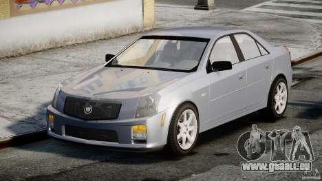 Cadillac CTS-V für GTA 4 Rückansicht