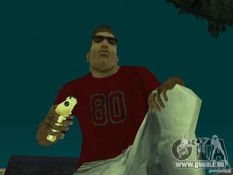 Desert Eagle 357. GOLD pour GTA San Andreas deuxième écran