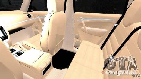 Porsche Cayenne Turbo 2003 für GTA 4 Innenansicht