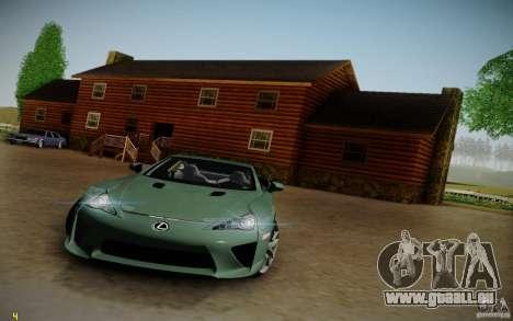 Lexus LFA für GTA San Andreas rechten Ansicht