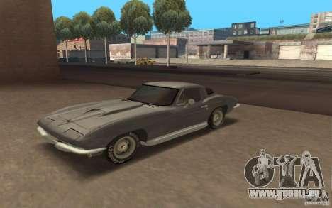 Chevrolet Corvette 427 für GTA San Andreas