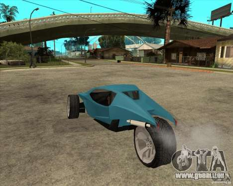 AP3 cobra pour GTA San Andreas laissé vue