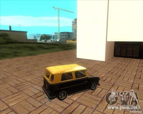 VW Typ 147 - Fridolin pour GTA San Andreas laissé vue