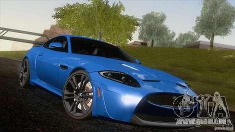 Jaguar XKR-S 2011 V1.0 für GTA San Andreas Motor