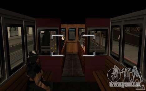 Enterable Tram v1.2 für GTA San Andreas