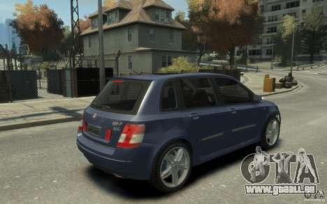 Fiat Stilo Sporting 2009 pour GTA 4 est un droit