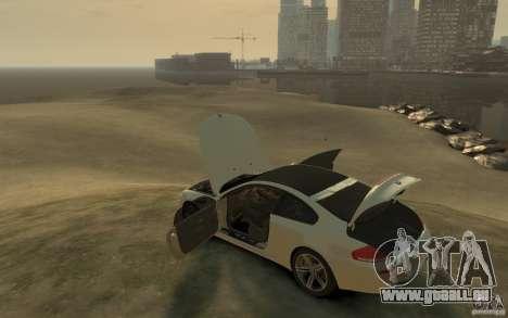 BMW M6 2010 v1.4 pour GTA 4 Vue arrière de la gauche