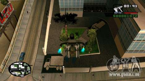 Nouvel hôpital de textures à Los Santos pour GTA San Andreas quatrième écran