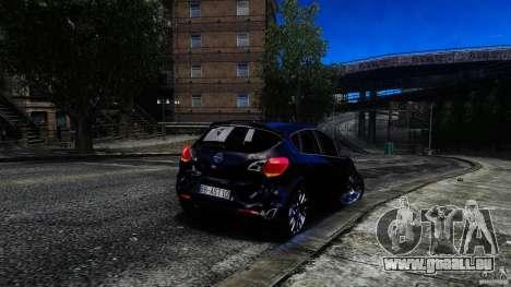 Opel Astra für GTA 4 Innenansicht