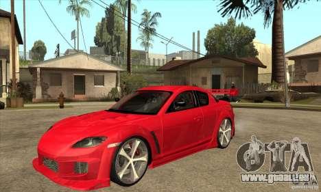 Mazda RX8 Slipknot Style pour GTA San Andreas