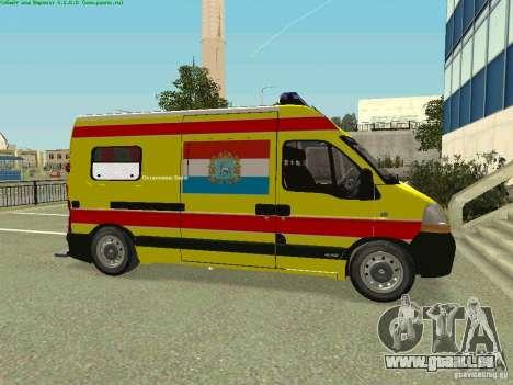 Renault Master rapide Samara pour GTA San Andreas laissé vue