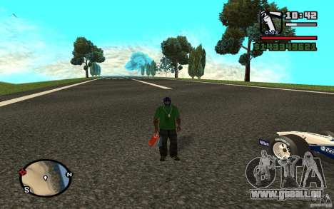 High-speed line pour GTA San Andreas deuxième écran