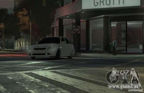 VAZ Lada Priora 2172 pour GTA 4 Vue arrière