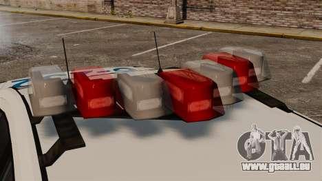Polizei Buffalo ELS für GTA 4 Rückansicht