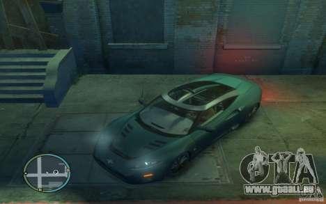 Spyker C8 Aileron pour GTA 4 est une gauche