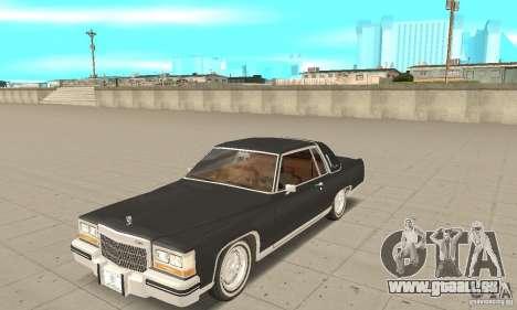 Cadillac Coupe DeVille 1985 pour GTA San Andreas