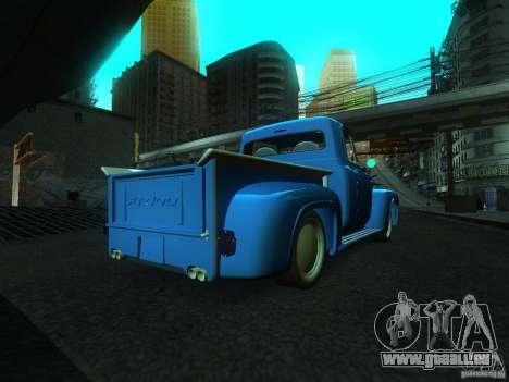 Ford FR 100 pour GTA San Andreas laissé vue