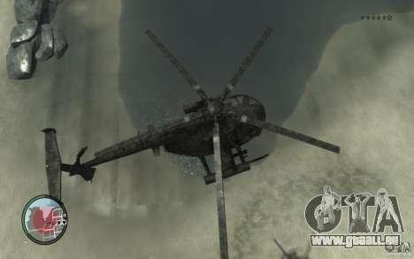 AH-6 Little Bird AcuDigital Camo pour GTA 4 est un droit