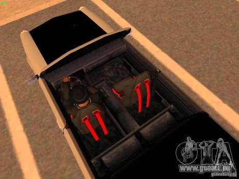 New Perennial pour GTA San Andreas vue intérieure