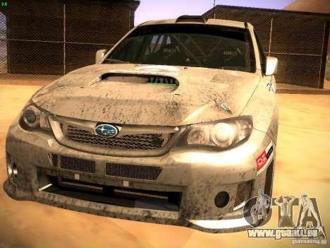 Subaru Impreza Gravel Rally pour GTA San Andreas laissé vue