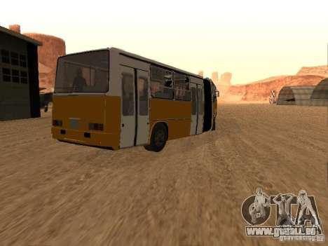 Remorque Ikarusu 280.46 pour GTA San Andreas laissé vue