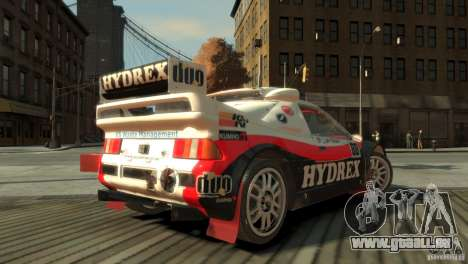 Ford RS200 Evolution Rallycross für GTA 4 linke Ansicht