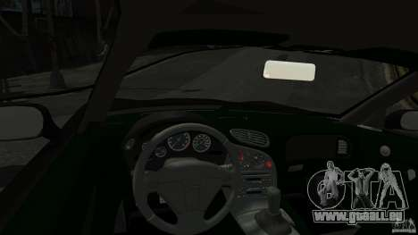 Mazda RX7 1995 Black [EPM] für GTA 4 Rückansicht