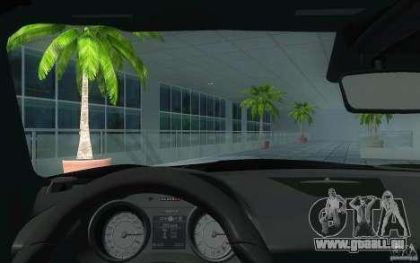 Mercedes Benz SLS HAMANN für GTA San Andreas Innenansicht