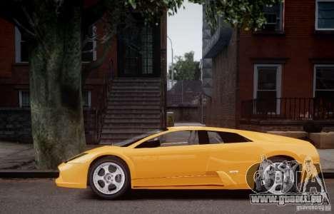 Lamborghini Murcielago für GTA 4 hinten links Ansicht
