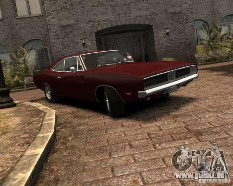 Dodge  Charger 1969 pour GTA 4 est une gauche