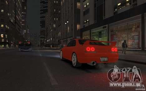 Nissan Skyline pour GTA 4 est une vue de l'intérieur