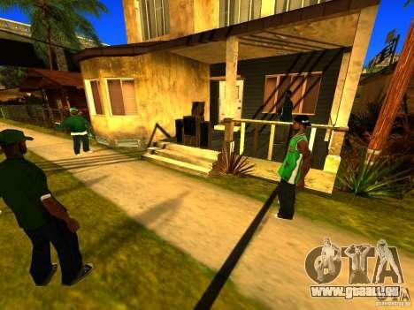 Party zone pour GTA San Andreas quatrième écran
