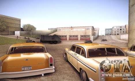 Cabbie HD pour GTA San Andreas vue de droite