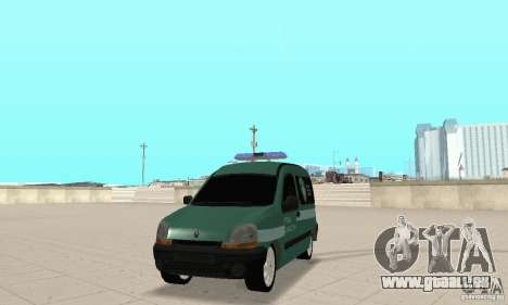 Renault Kangoo Straz Graniczna für GTA San Andreas