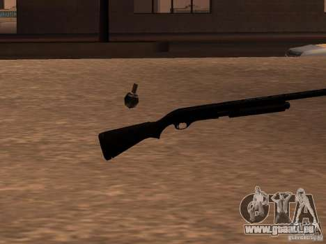 Remington 870 Action Express pour GTA San Andreas deuxième écran