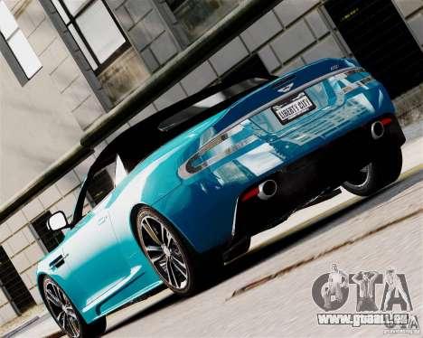 Aston Martin DBS Volante 2010 v1.5 Diamond für GTA 4 rechte Ansicht