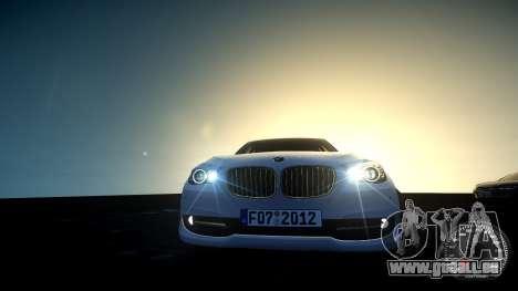 BMW GT F07 2012 GranTurismo pour GTA 4 Vue arrière