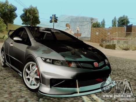 Honda Civic TypeR Mugen 2010 für GTA San Andreas Innen
