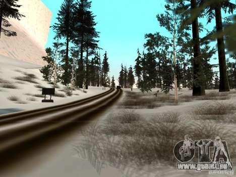 Hiver pour GTA San Andreas huitième écran