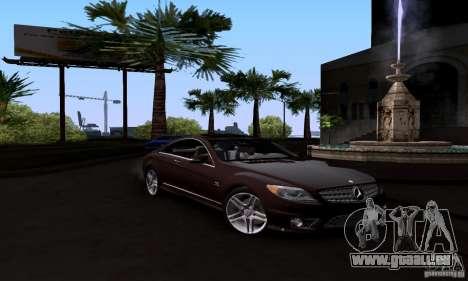 Mercedes-Benz CL65 AMG E.U. pour GTA San Andreas