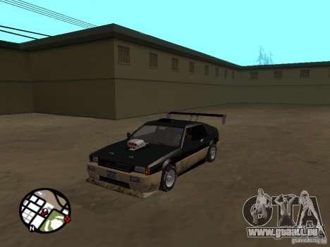 Nouvelles pièces pour le tuning pour GTA San Andreas quatrième écran