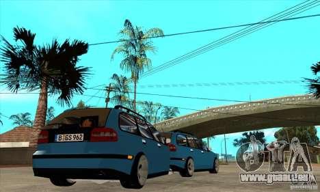 Volvo V40 Gespann pour GTA San Andreas vue de droite