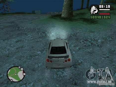 Nissan Skyline GTR für GTA San Andreas Seitenansicht