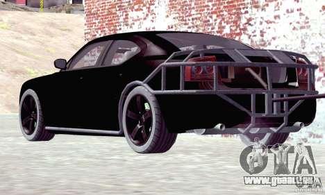 Dodge Charger Fast Five pour GTA San Andreas laissé vue