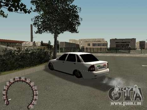 VAZ Lada Priora 2170 für GTA San Andreas rechten Ansicht