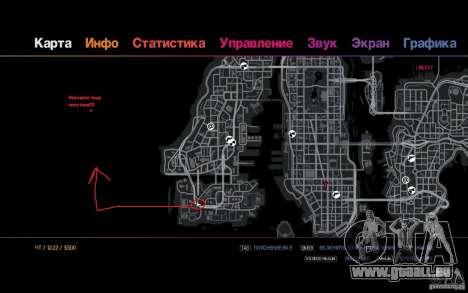 Die Route für die faulen für GTA 4 fünften Screenshot