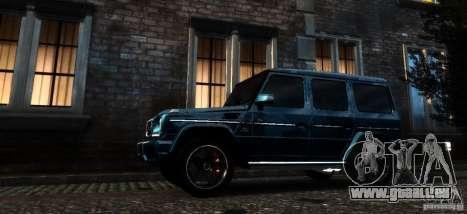 Mercedes-Benz G65 AMG [W463] 2012 pour GTA 4 est un côté