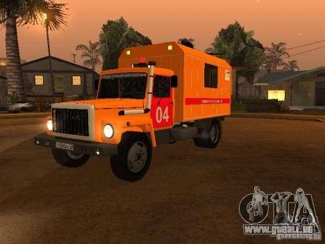 GAZ 3309; für GTA San Andreas
